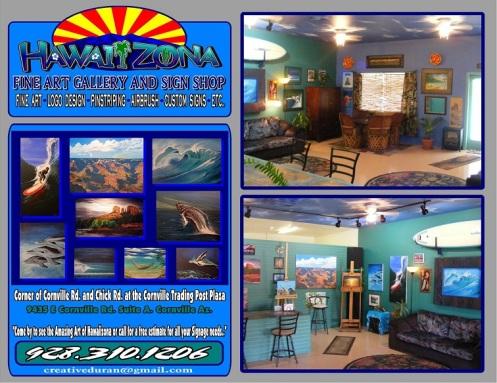 Fine Art and Sign Shop Cornville AZ